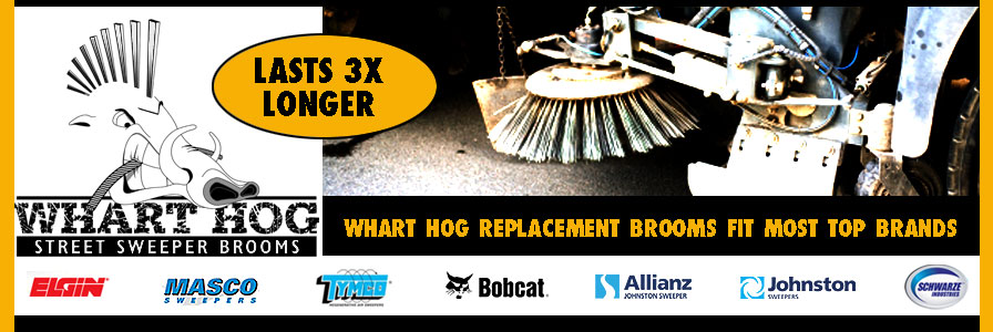 Street Sweeper Replacement Brooms